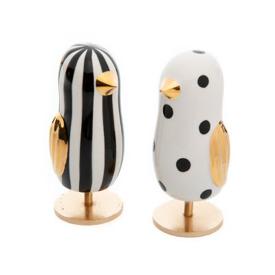 Mod Chick Figurines - Set of 2