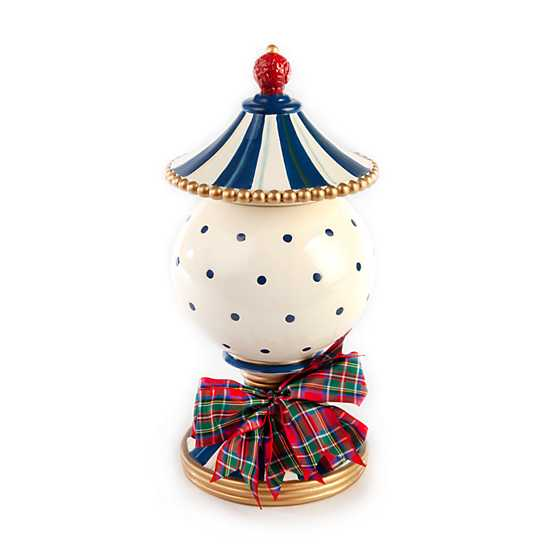 Royal Check Lidded Urn - Small image two