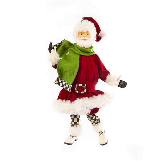 Happy Holidays Santa Ornament image two
