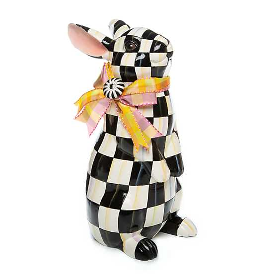 Courtly Check Standing Bunny image one
