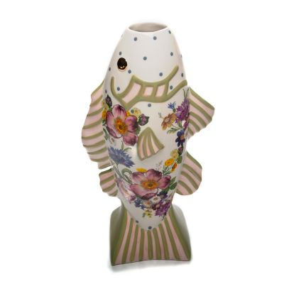 Flower Market Fish - Short Vase