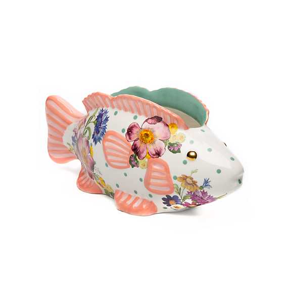 Flower Market Fish - Small Planter