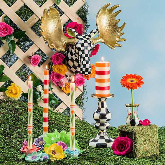 Flower Market Candle Centerpiece image two