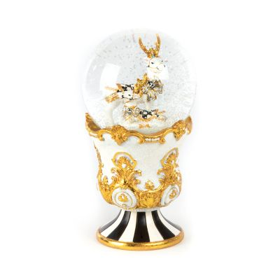 Golden Hour Deer Snow Globe