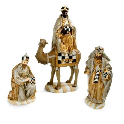 Silver Lining Nativity - Three Kings