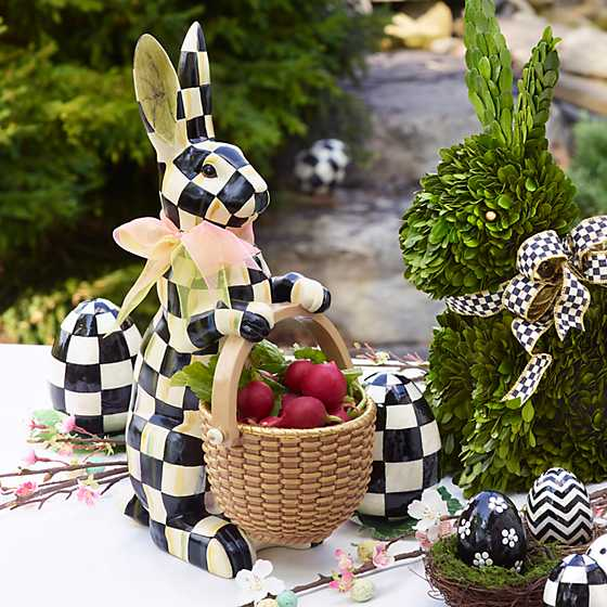 Courtly Check Rabbit image two