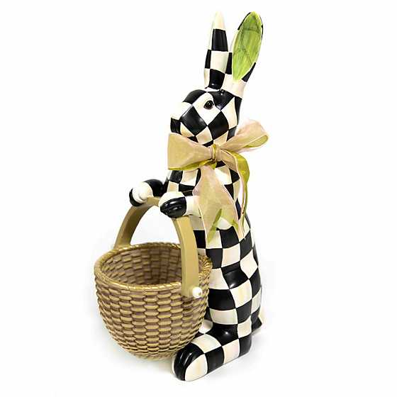 Courtly Check Rabbit image one