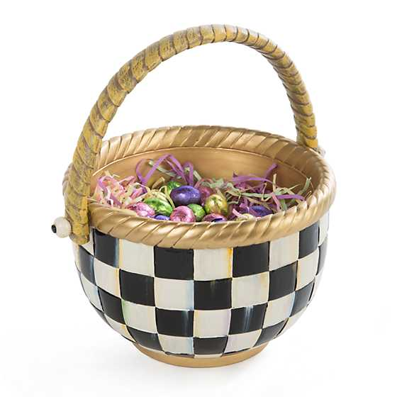 Courtly Check Basket - Large