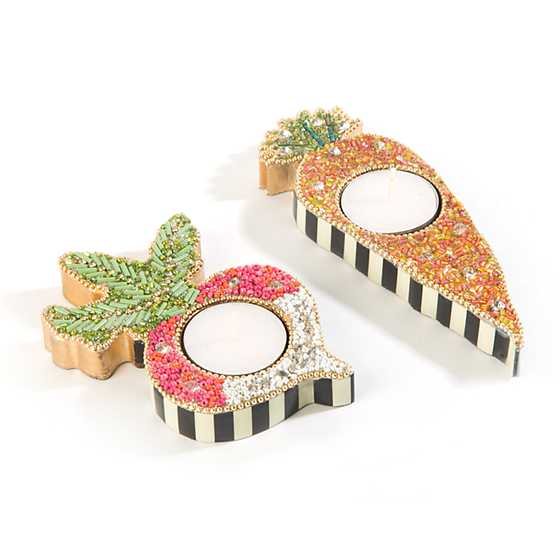 Veggie Tealight Holders - Set of 2 image three