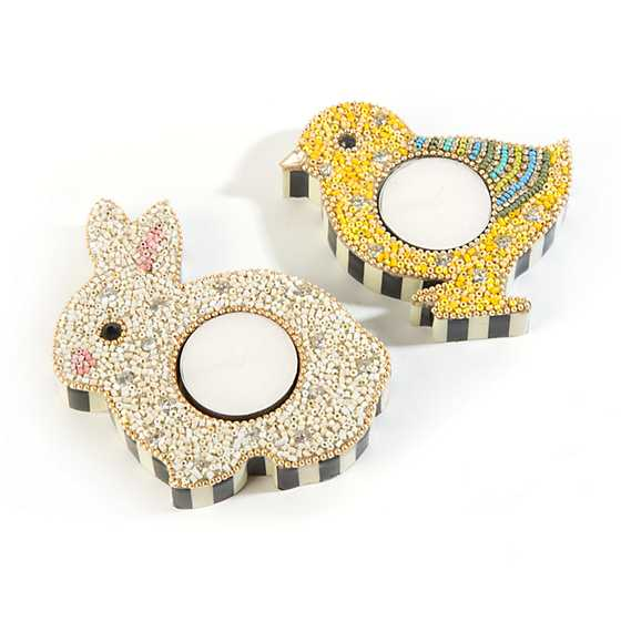 Hop Tealight Holders - Set of 2 image three