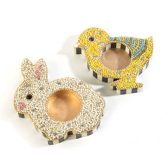 Hop Tealight Holders - Set of 2