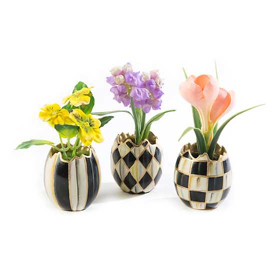 Courtly Egg Bouquet - Set of 3