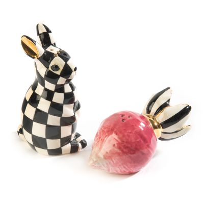 Radish Rabbit Salt & Pepper Shakers