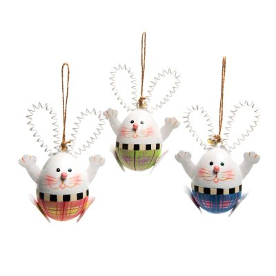 Image for Hello Rabbit Ornaments - Set of 3