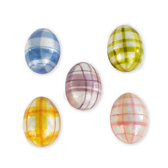 Spring Has Sprung Tartan Eggs - Set of 5 image three