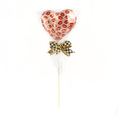 Heart Lollipop Pick - Hot Lips