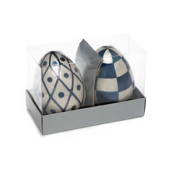 Country Stroll Capiz Eggs - Set of 2 image three