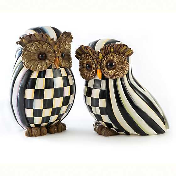 Courtly Stripe Owl image four