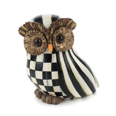 Courtly Stripe Owl