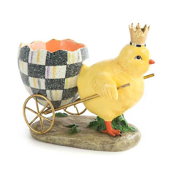 Chick with Cart