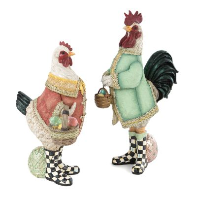 Courting Chickens - Set of 2