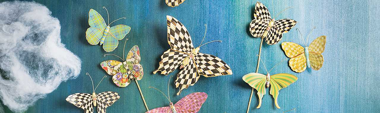 Butterfly Trio - Meadow Banner Image