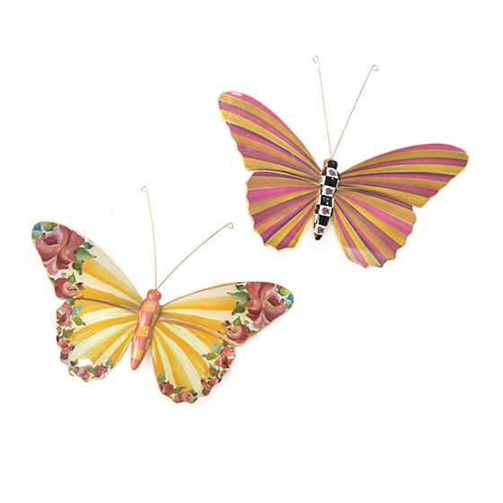 Butterfly Duo - Garden image one