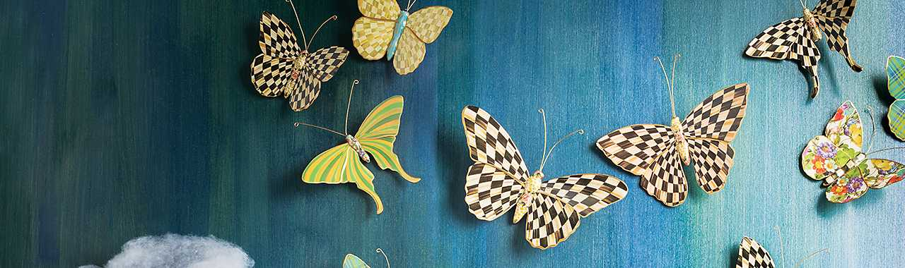 Butterfly Duo - Courtly Check Banner Image