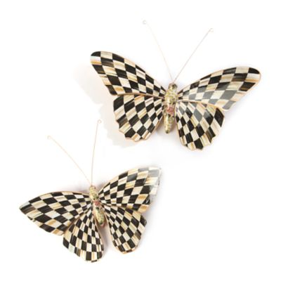 Butterfly Duo - Courtly Check