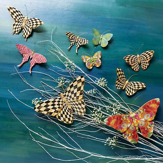 Courtly Check Butterfly image two