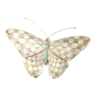 Parchment Check Butterfly