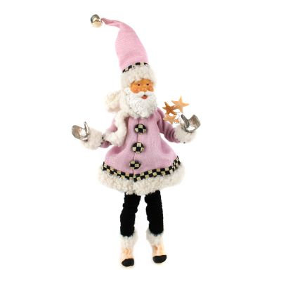 Home Sweet Snow Elf Ornament - Pink