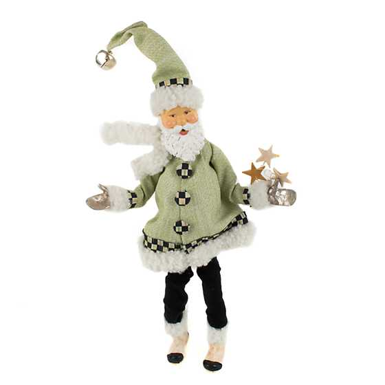 Home Sweet Snow Elf Ornament - Green
