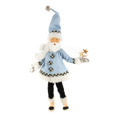 Home Sweet Snow Elf Ornament - Blue