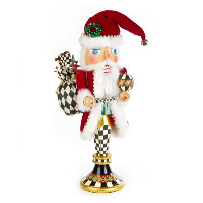 Father Christmas Pedestal Nutcracker
