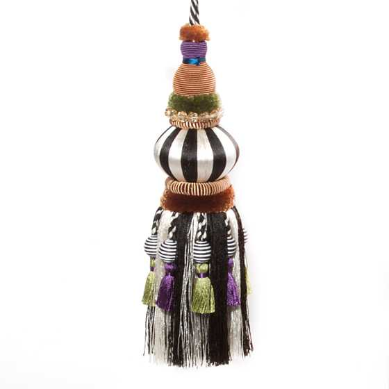 Bibelot Tassel - Black & White image one