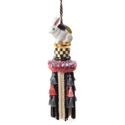 Image for Rabbit Tassel - Courtly Check