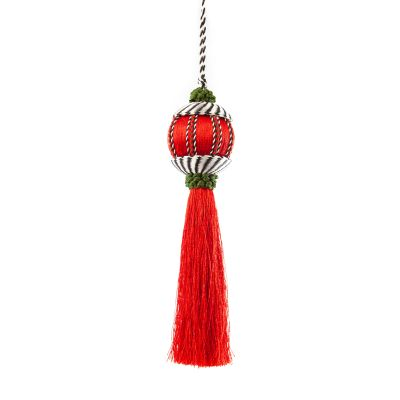 Happy Holidays Tassel Ornament