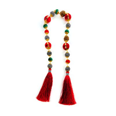Happy Holidays Tassel Garland