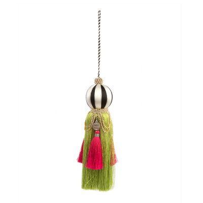 Paradise Jeweled Tassel Ornament