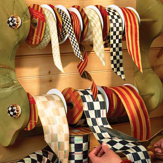 "Courtly Check 1"" Ribbon image four"