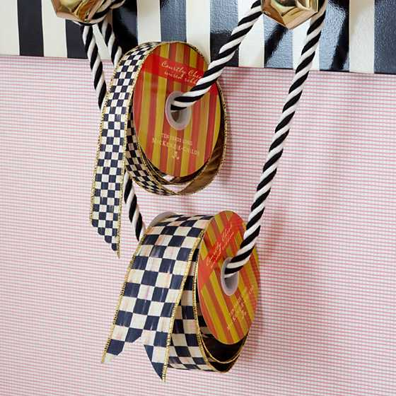 "Courtly Check 1"" Ribbon image five"
