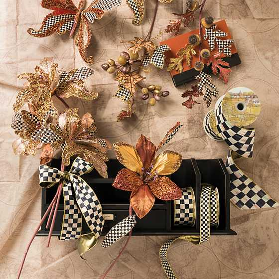 "Courtly Check 1"" Ribbon image eleven"
