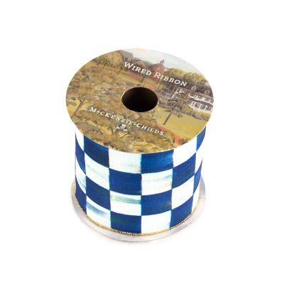 "Royal Check 4"" Ribbon"