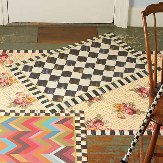 Courtly Check Floor Mat - 2' x 3' image five