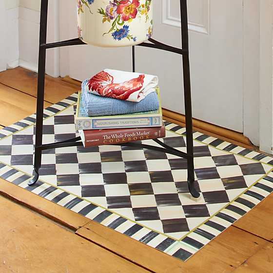 Courtly Check Floor Mat - 2' x 3' image six