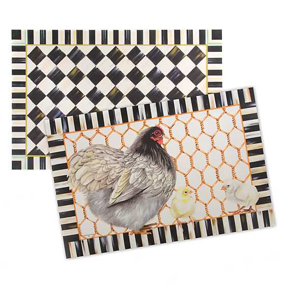 Courtly Check Floor Mat - 2' x 3' image three