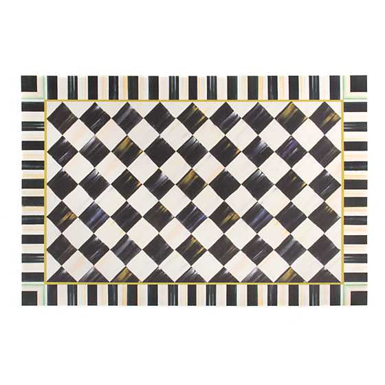 Courtly Check Floor Mat - 2' x 3'