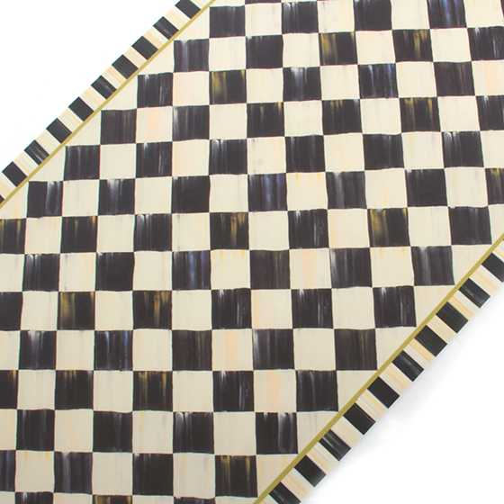 "Courtly Check Floor Mat - 2'6"" x 8' Runner image three"