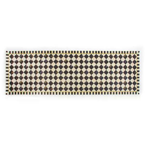 "Courtly Check Floor Mat - 2'6"" x 8' Runner"
